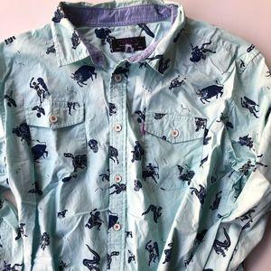 Astrology Button Down Shirt
